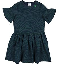 Freds World Dress - Safari - Navy/Green