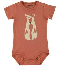 Soft Gallery Bodysuit s/s - Dalton - Pointer - Baked Clay