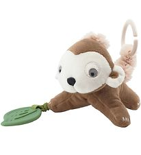 Sebra Activity Soft Toy - Maci The Monkey - Almond Brown