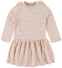 En Fant Dress - Pink Champagne/Striped