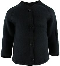 Smallstuff Cardigan - Wool - Black