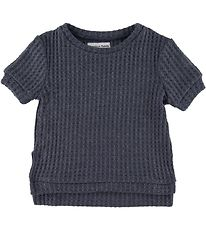 Christina Rohde T-shirt - Knitted - Charcoal