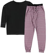 Say-So Pyjamas - Black/Rose