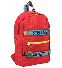 Stella McCartney Kids Backpack - Red/Blue/Yellow