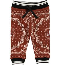 Dolce & Gabbana Sweatpants - Bordeaux w. Pattern