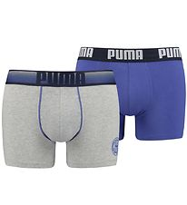 Puma Boxers - 2-pack - Grey/Blue