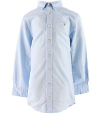 GANT Shirt - Archive Oxford - Capri Blue