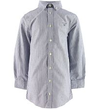 GANT Shirt - Archive Oxford Stripe - College Blue