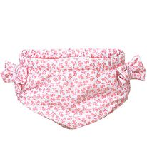 Petit Crabe Swim Diaper - Lea - UV50+ - White w. Flowers