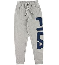 Fila Sweatpants - Classic Pure - Grey Melange