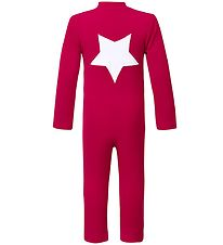 Petit Crabe Coverall Swimsuit - UV50+ - Red w. Star