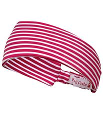 Petit Crabe Headband - Sophie - UV50+ - Red/White Striped