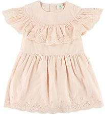 En Fant Dress - Rose w. Lace