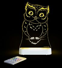 Aloka Night Lamp - Sleepy Lights - 20x13 - Owl
