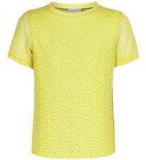 The New T-shirt - Odessa - Yellow w. Dots/Gold