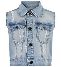 Creamie Vest - Blue Denim