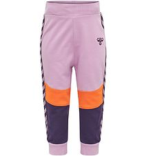 Hummel Sweatpants - Veronica - Purple/Orange