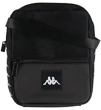 Kappa Shoulder Bag - Banda Bayes - Black w. Logo