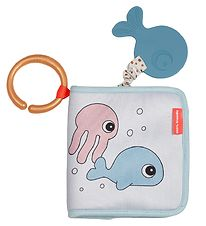 Done By Deer Bath Book - Sea Friends - Blue