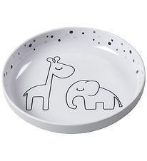 Dony By Deer Plate - Dreamy Dots Yummy - Grey