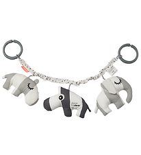Done By Deer Pram Chain - Deer Friends - Grey
