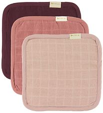 Fabelab Washcloth - 3-pack - Berry