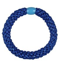 Kknekki Hair Tie - Electric Blue Glitter