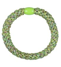 Kknekki Hair Tie - Green Glitter