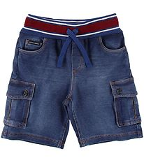 Dolce & Gabbana Shorts - Blue Denim w. Red