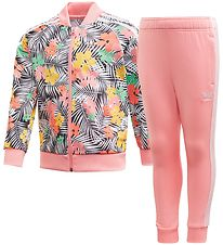 adidas Originals Training Set - SST - Pink Hibiscus