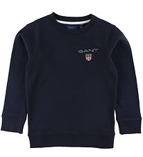 GANT Sweatshirt - Shield - Navy