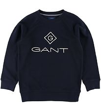 GANT Sweatshirt - Lock Up - Navy
