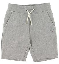 GANT Sweatshorts - The Original - Grey Melange