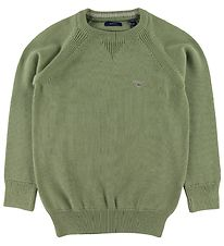 GANT Jumper - Knit - Casual - Oil Green