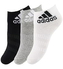 adidas Performance Socks - 3-pack - Black/Grey/White