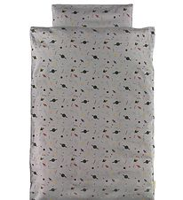 Filibabba Duvet Cover - Baby - Space Grey