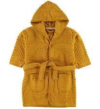 Filibabba Bathrope - Zigzag - Golden Mustard