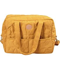 Filibabba Changing Bag - Soft Quilt - Golden Mustard
