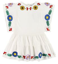 Stella McCartney Kids Dress - White w. Flowers