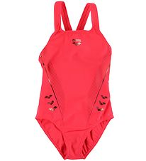 Arena Swimsuit - Chameleon - Red w. Bronze