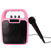 Celly Loudspeaker w. Microphone - Wireless - Party - Pink