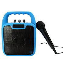 Celly Loudspeaker w. Microphone - Wireless - Party - Blue