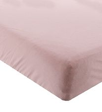 BabyDan Bed Sheet - 70x160 - Rose