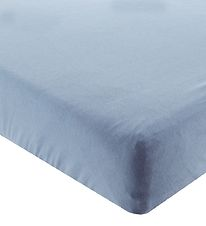 BabyDan Bed Sheet - 70x160 - Blue