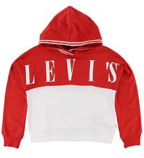 Levis Hoodie - Red/White