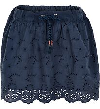 Me Too Skirt - Dress Blues w. Embroidery