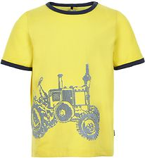 Me Too T-shirt - Lemon Yellow w. Tractor
