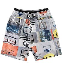 Molo Swim Trunks - UV50+ - Neal - Basket Check