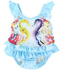 Molo Swimsuit - UV50+ - Nalani - Seahorses