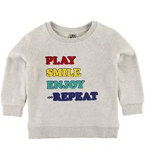 Bonton Sweatshirt - Grey Melange w. Terry Cotton